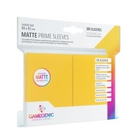 Koszulki na karty Gamegenic: Matte Prime CCG (64x89 mm) - Yellow, 100 sztuk Gamegenic Gamegenic