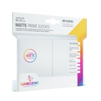 Koszulki na karty Gamegenic: Matte Prime CCG (64x89 mm) - White, 100 sztuk Gamegenic Gamegenic