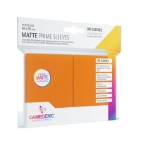 Koszulki na karty Gamegenic: Matte Prime CCG (64x89 mm) - Orange, 100 sztuk Gamegenic Gamegenic