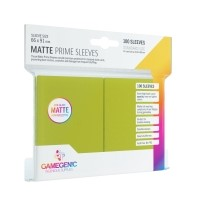 Koszulki na karty Gamegenic: Matte Prime CCG (64x89 mm) - Lime, 100 sztuk Gamegenic Gamegenic