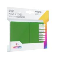 Koszulki na karty Gamegenic: Prime CCG (64x89 mm) - Green, 100 sztuk