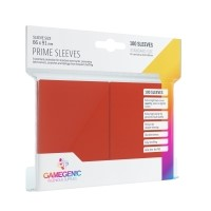 Koszulki na karty Gamegenic: Prime CCG (64x89 mm) - Red, 100 sztuk Gamegenic Gamegenic