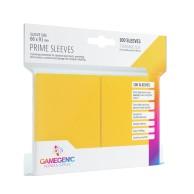 Koszulki na karty Gamegenic: Prime CCG (64x89 mm) - Yellow, 100 sztuk