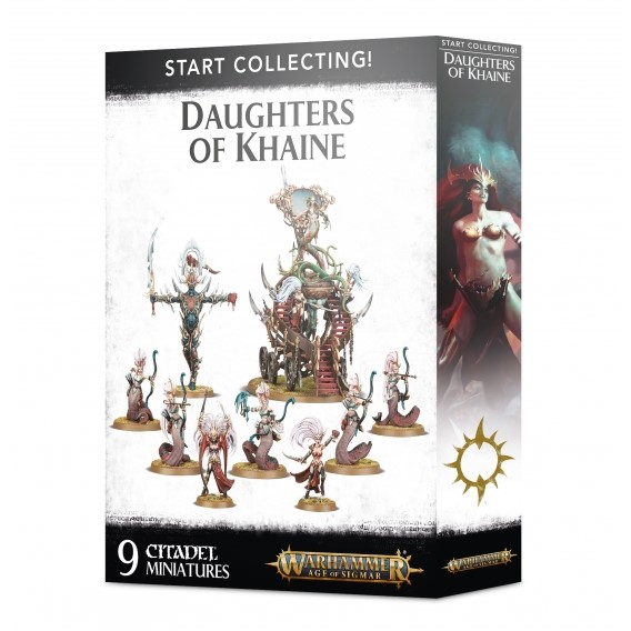 Age of Sigmar: Start Collecting! Daughters of Khaine Daughters of Khaine Games Workshop