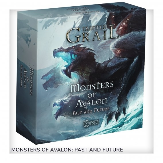 Tainted Grail: The Fall of Avalon - Monsters Of Avalon: Past And The Future PL Przedsprzedaż Awaken Realms
