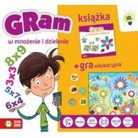 Gram w mnożenie i dzielenie Dla dzieci Zielona Sowa