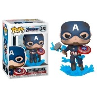Figurka Funko POP Marvel: Endgame- Captain America with Broken Shield & Mjolnir - 573 Funko - Marvel Funko - POP!