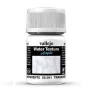 Vallejo 26591 Water Textures 35 ml. Water Transparent Dodatki do farb Vallejo