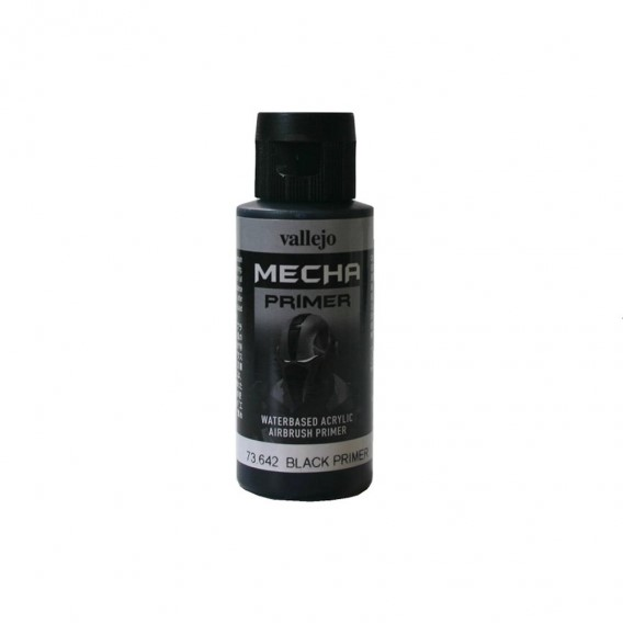 Farba Vallejo 73.642 Mecha Primer 60 ml. Black Surface Primer Vallejo