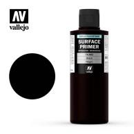 Farba Vallejo 74.602 Surface Primer 200 ml. Black Surface Primer Vallejo