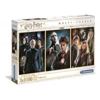 Puzzle 3 x 1000 el. Harry Potter Fantasy Clementoni