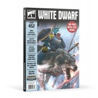 White Dwarf 452 March 2020 Czasopisma o grach Games Workshop