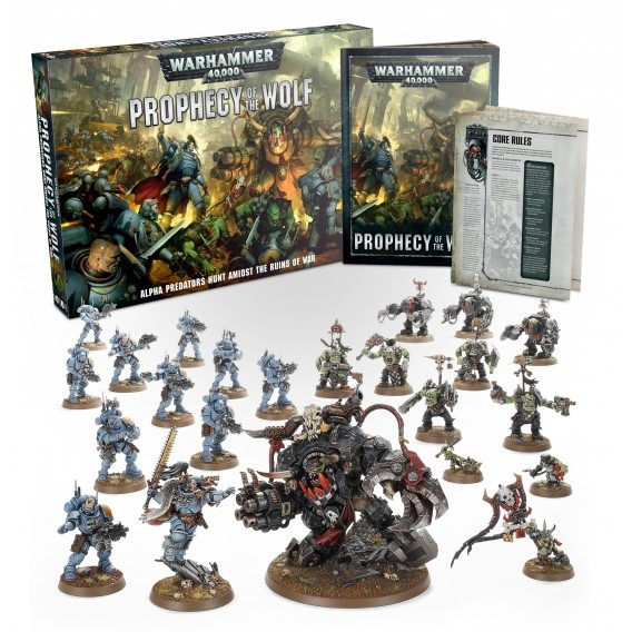 WARHAMMER 40000: Prophecy of the Wolf Space Wolves Games Workshop