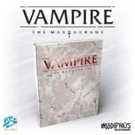 Vampire: The Masquerade 5th Edition Deluxe Edition Core Rulebook Wampir Maskarada Modiphius Entertainment