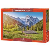 Puzzle 500 el. Lato w Alpach
