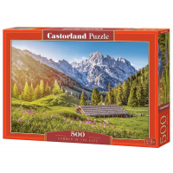 Puzzle 500 el. Lato w Alpach Pejzaże Castorland