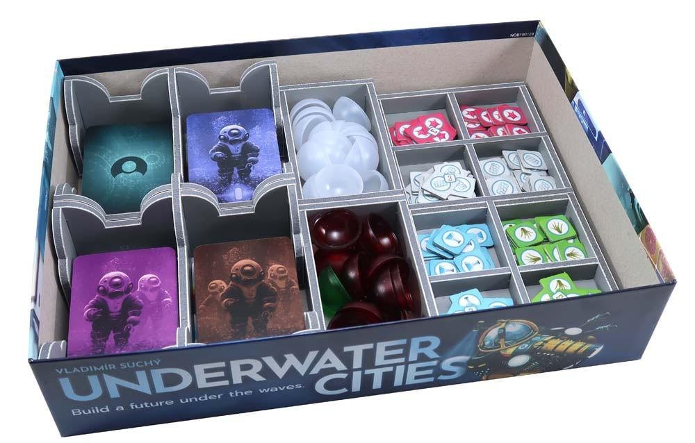 Folded Space: organizer do gry Podwodne Miasta