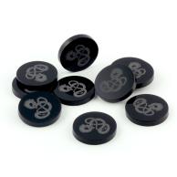 Crafters: Znaczniki akrylowe - Czarne - Smok v2 (10) Główna Crafters
