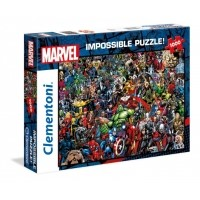 Puzzle 1000 el. Impossible Marvel Impossible Puzzle Clementoni