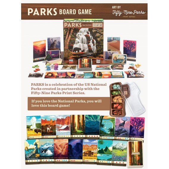 PARKS: The Board Game Rodzinne Keymaster games