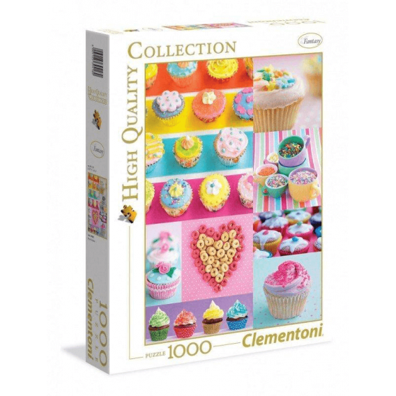 Puzzle 1000 el. Sweet Donuts Motywy Clementoni