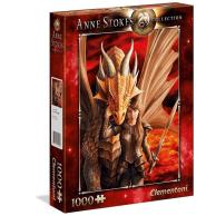 Puzzle 1000 el. Anne Stokes- Wewnętrzna siła Anne Stokes Collection Clementoni