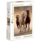 Puzzle 1000 el. Running horses High Quality Collection Clementoni