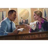 Lawyer Up (edycja Kickstarter Senior Partner) Przedsprzedaż Rock Manor Games