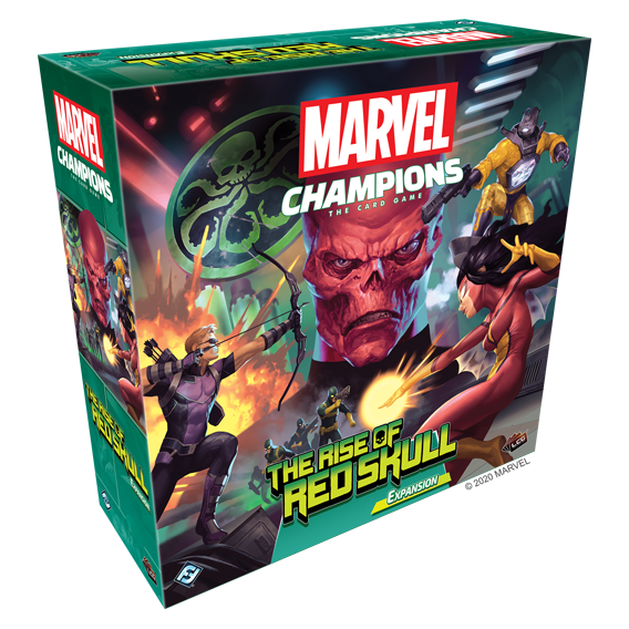 Marvel Champions: The Card Game - The Rise of Red Skull Przedsprzedaż Fantasy Flight Games