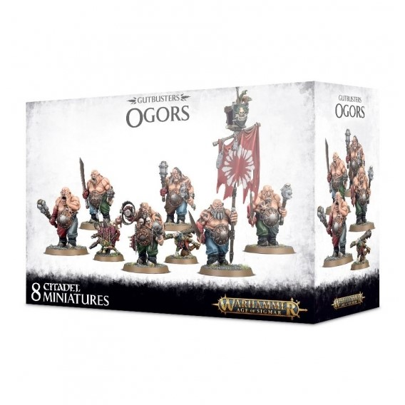 Age of Sigmar: GUTBUSTERS OGORS Ogor Mawtribes Games Workshop