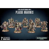 WARHAMMER 40000: Plague Marines Death Guard Games Workshop