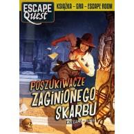Escape Quest. Poszukiwacze zaginionego skarbu. Książka z łamigłówkami Gry Paragrafowe Egmont