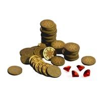 Pax Renaissance metal coins Przedsprzedaż Ion Game Design