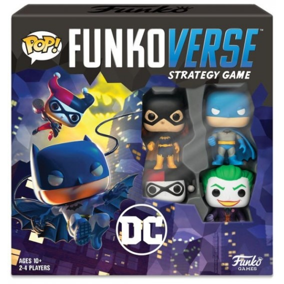 Funkoverse DC Comics - Base Set