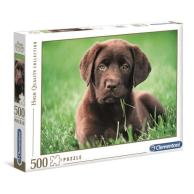 Puzzle 500 el. Szczeniak Zwierzęta Clementoni
