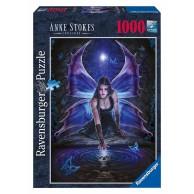 Puzzle 1000 el. Anna Stokes - Tęsknota Fantasy Ravensburger
