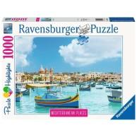 Puzzle 1000 el. Śródziemnomorska Malta