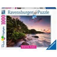 Puzzle 1000 el. Wyspa Praslin Seszele