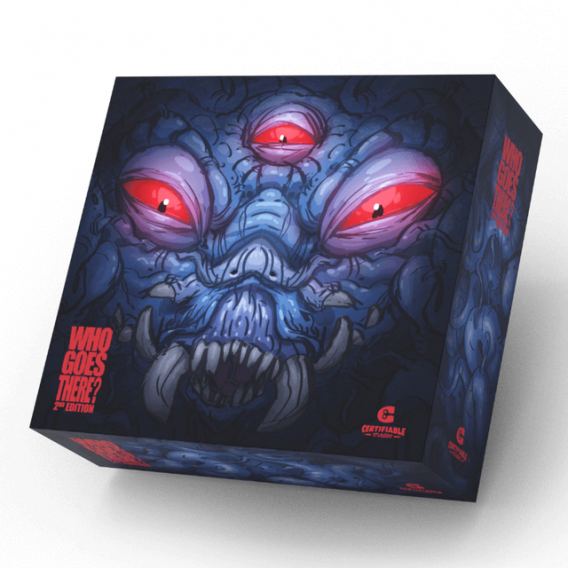 """WHO GOES THERE? - 2nd EDITION - Deluxe Edition \\""""Thing\\"""" Box Art Przedsprzedaż Certifiable Studios"""