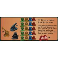 Endeavor: Zestaw plastikowych znaczników Pozostałe gry Burnt Island Games