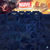 Marvel Champions: The Game Mat - 1-4 Player Fantasy Flight Games Fantasy Flight Games