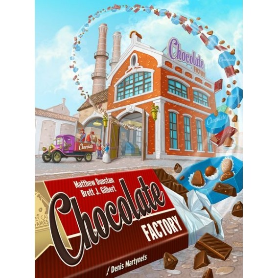 Chocolate Factory Strategiczne Alley Cat Games