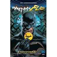 Odrodzenie - Batman / Flash - 1: Przypinka (okładka z Batmanem).