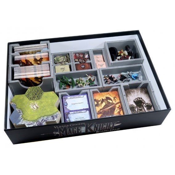 Folded Space: organizer do gry Mage Knight/Mage Knight Ultimate Inserty - Folded Space Folded Space