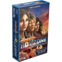 Pandemic: Hot Zone - North America Kościane Z-Man Games
