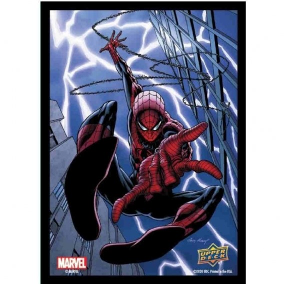 Marvel Card Sleeves - Spider-Man (65 Sleeves) Pozostałe Upper Deck Entertainment