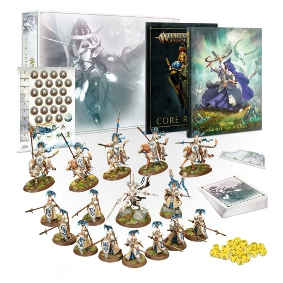 Age of Sigmar: Lumineth Realm-lords Army Set Aelves Games Workshop