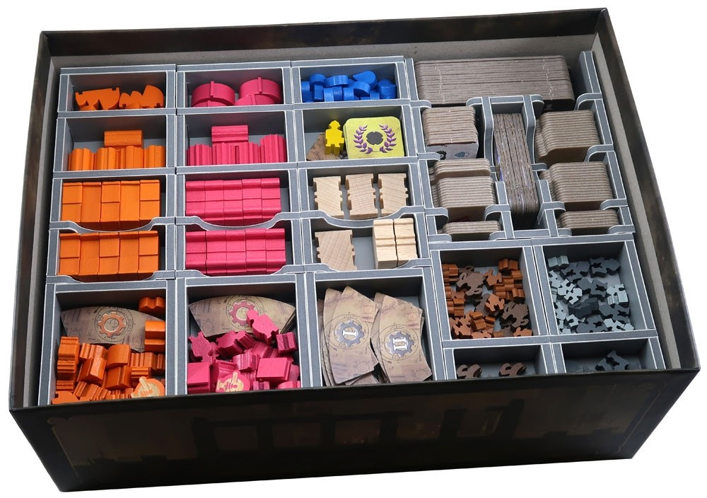 Folded Space: organizer do gry Barrage