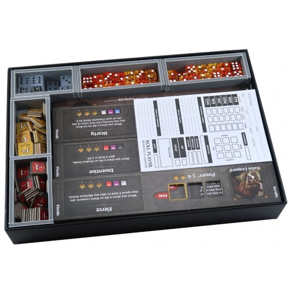 Folded Space: organizer do gry Roll Player lub Roll Player: Big Box Inserty - Folded Space Folded Space
