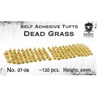 Paint Forge 07-06 Kępki trawy Dead grass 6mm 120szt. Trawa i Posypki Paint Forge